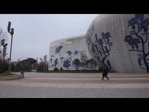Nanchang Wanda Park, China, room artists, rehearsal space, Wanda Mall