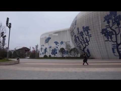 Nanchang Wanda Park, China, room artists, rehearsal space, Wanda Mall