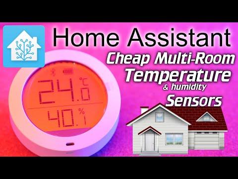Home Assistant: Cheap multi-room Temperature Sensors (Xiaomi