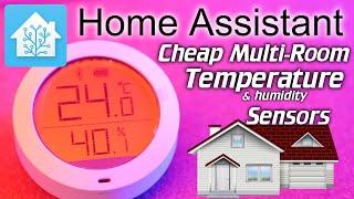 Home Assistant: Cheap multi-room Temperature Sensors (Xiaomi Mijia) (part 1 - 2)