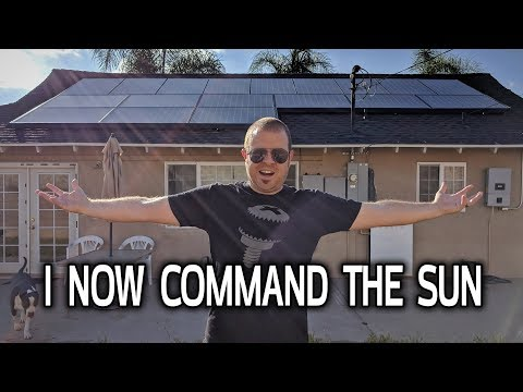 SOLAR SYSTEM COMPLETE! My Tesla Installation Part 3