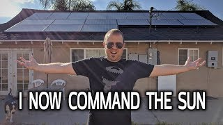 SOLAR SYSTEM COMPLETE! My Tesla Installation Part 3