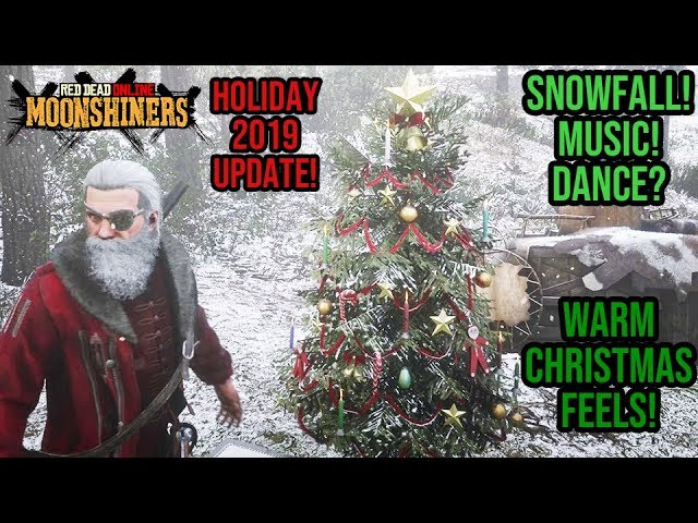 Moonshiners Christmas Special 2020 Red Dead Redemption 2 Online   Holiday 2019 Update! Snowfall +
