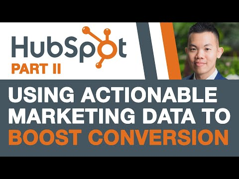 HubSpot Tutorial - 5 Actionable Marketing Data to Boost Conversions (Part 2) thumbnail