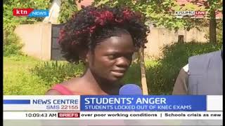 Students in Kisumu locked out of KNEC exams