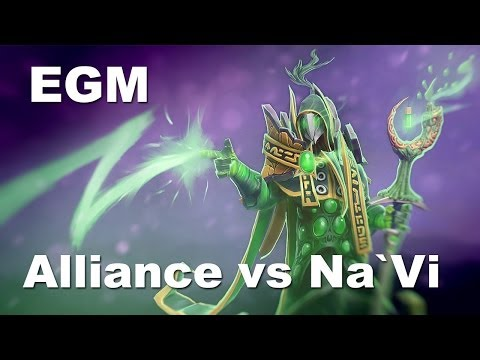 EGM Rubick Enter God Mode - Alliance vs NaVi - 3rd game.