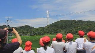 H-IIAロケット39号機「情報収集衛星レーダ6号機」打上げ@茎永 2018/06/12