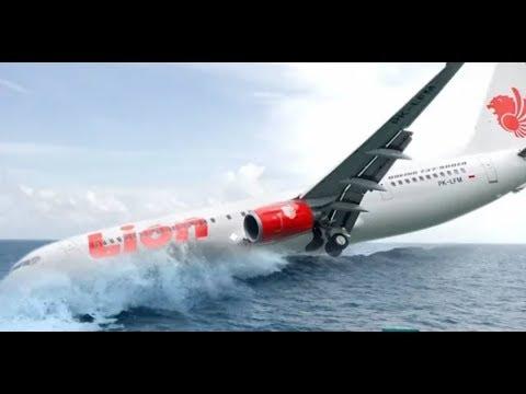 ILUSTRASI MENCEKAM DETIK - DETIK LION AIR JT-610 JATUH DI PERAIRAN KARAWANG JAWA BARAT