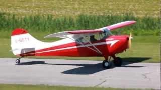 [HD] 1948 Aeronca 11CC Super Chief Landing CSU3