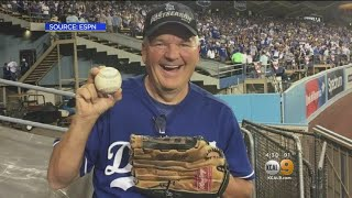 Retired Police Captain Gives Back Game 2 Home Run Ball To Justin Turner