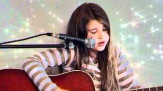 Justin Bieber - Down To Earth (acoustic guitar cover) performed by celina