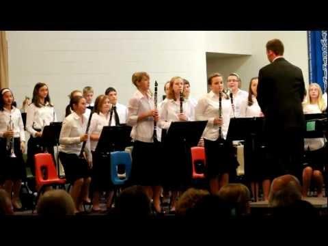 Prairie Hills Middle School Winter Concert 2010