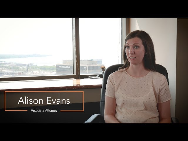 Alison Evans, Associate Attorney - Benesch Law