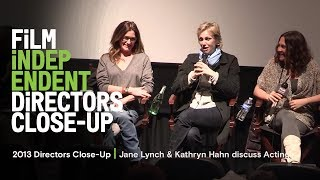 Getting Great Performances from Actors - Directors Close-Up 2013