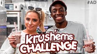 KRUSHEMS CHALLENGE VS SAFFRON BARKER!!!