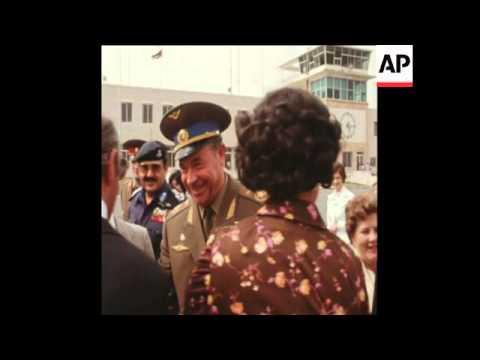 SYND 19 5 76 SOVIET DEPUTY DEFENCE MINISTER KUTAKHOV ARRIVES IN AMMAN