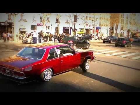 Lowrider on Champs Elysees Paris
