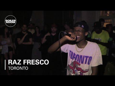 "Raz Fresco ""And It Don't Stop"" - Boiler Room Rap Life Toronto"