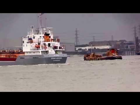 Thames Shipping by Richie Sloan, (4)Mixture,Tugs Ships Boats. Pilots.