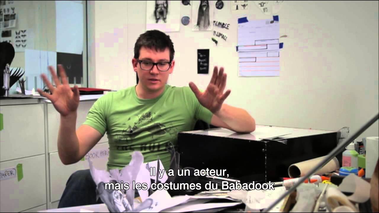 MISTER BABADOOK - Making Of 1 - Le Livre