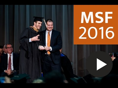 2016 Texas MSF Commencement