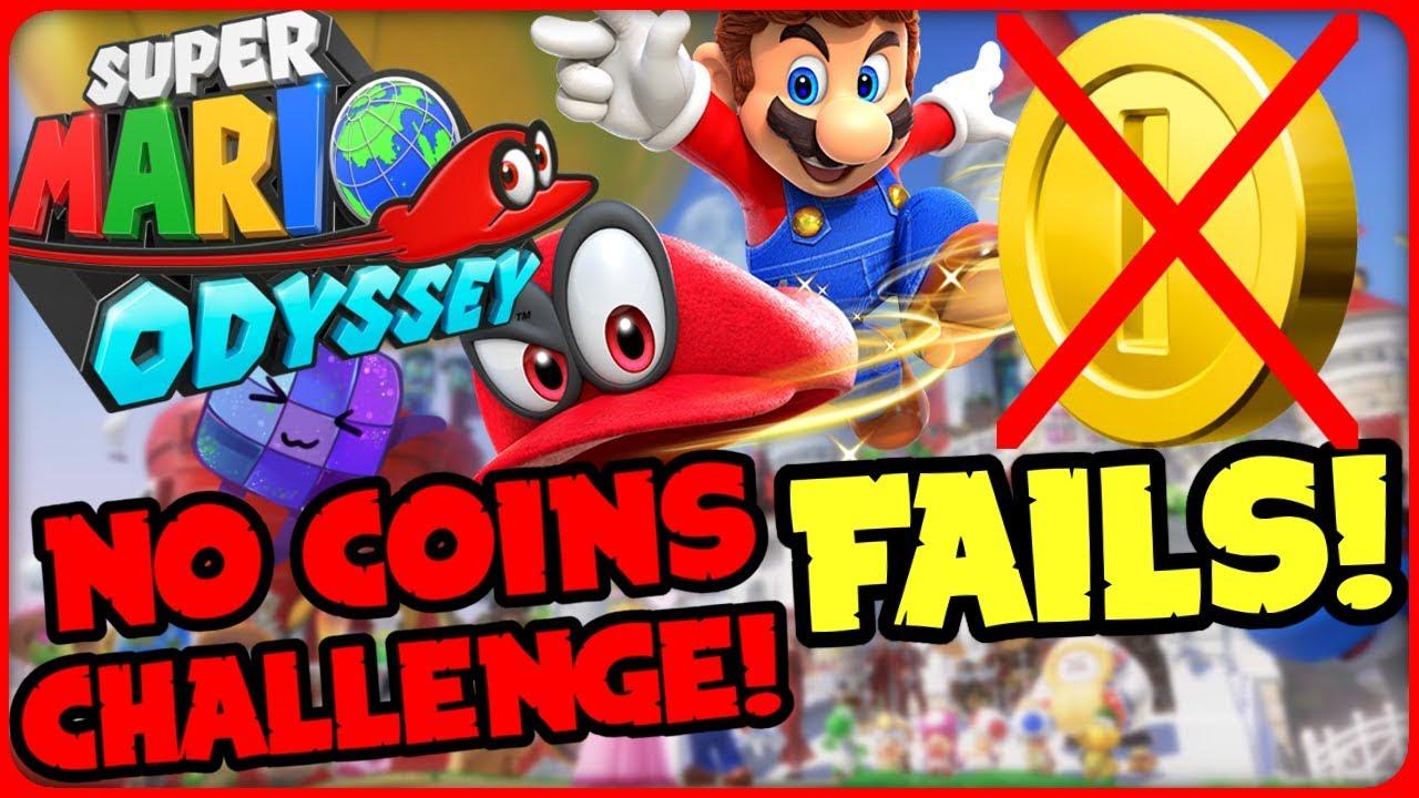 Mario Odyssey Ohne Münzen Challenge Fails Super Mario Odyssey