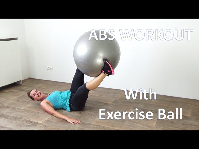 10 Minute Abs Workout - Exercise Ball Workout
