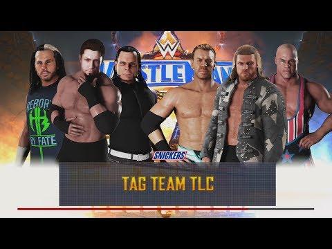 Tag Team TLC Match Teaming Up With The Hardy Boyz! WWE 2K18