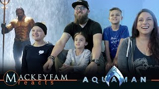 AQUAMAN - Extended Video- REACTION and REVIEW!!