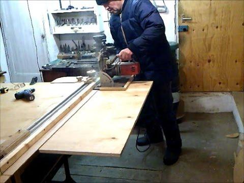 Направляющая для ручной циркулярной пилы своими руками 28