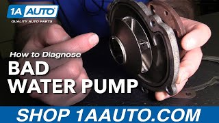 How to Diagnose a Bad Water Pump