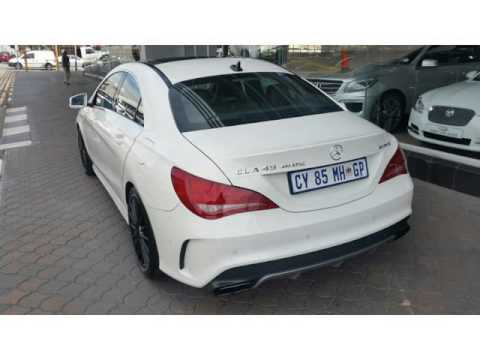 2014 MERCEDES BENZ CLA CLASS CLA45 AMG 4Matic Auto For Sale On Auto Trader  South Africa