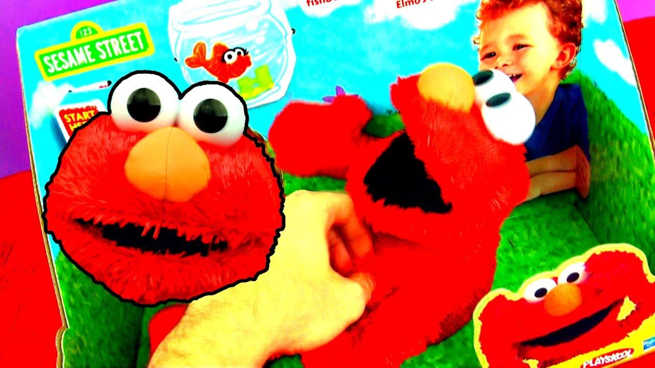 LOL Elmo Toy Laugh Out Loud Sesame Street Tickle Me Elmo Jokes
