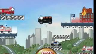 Fire Truck Police Car Ambulance Games for Children - Videos for Kids