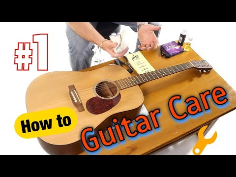 Acoustic Guitar Maintenance - General Care and Information