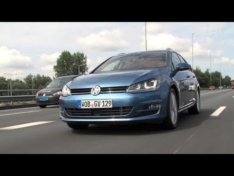 vw golf 7 variant test youtube. Black Bedroom Furniture Sets. Home Design Ideas