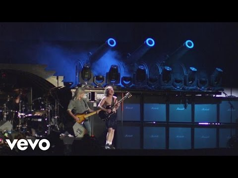 AC/DC - For Those About to Rock (We Salute You) (from Live at River Plate) music