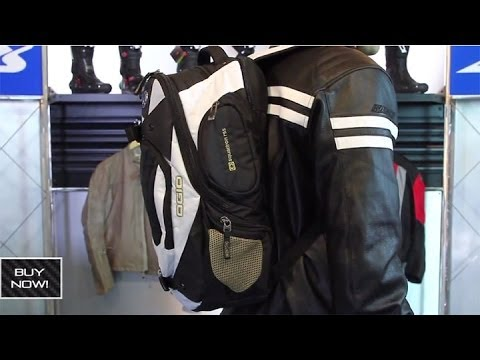 Ogio Squadron RSS II Backpack from Motorcycle-Superstore.com - YouTube