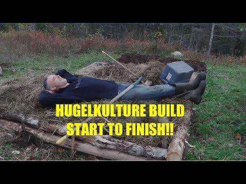 how to make hugelkultur raised beds