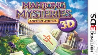 Mahjong Mysteries Ancient Athena Gameplay (Nintendo 3DS) [60 FPS] [1080p]