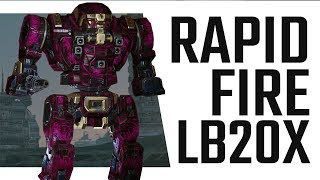Rapid Fire LB 20 X Gargoyle Hero Kin Wolf   Mechwarrior Online The Daily Dose 318