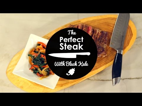 How to Pan Cook The Perfect Grass-Fed Organic Steak - WIth  Lester Austin