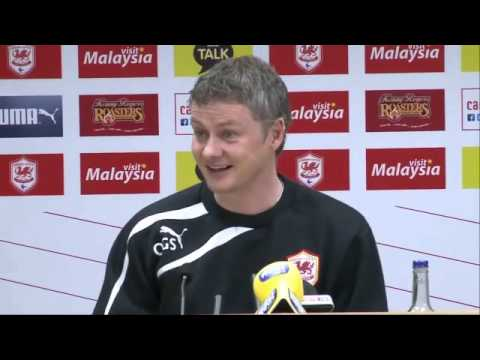 Cardiff City's Ole Gunnar Solskjær on relegation fight with Fulham