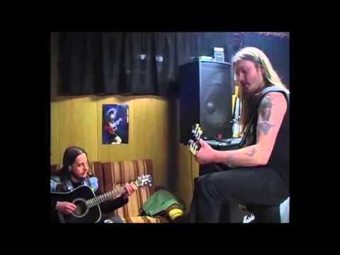 Darkthrone studio playing