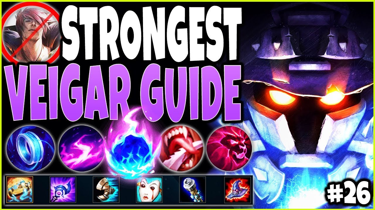 STRONGEST VEIGAR GUIDE! LoL Meta Veigar Season 10 Build Guide #26! BEST Top Lane Veigar s10 Gameplay