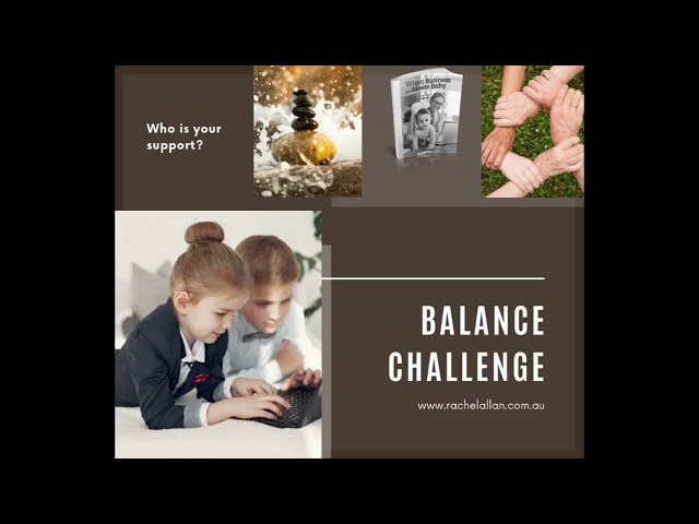 Are you ready to achieve balance?