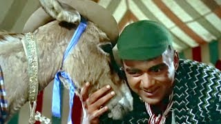 Mehmood & his donkey turn race tipster | Meharbaan | Comedy Scene 10/18