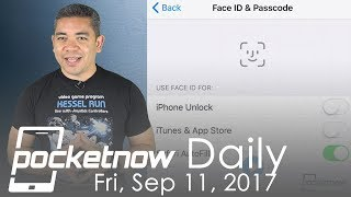 iPhone 8 Face ID leaked in video, Galaxy Note 8 sales & more   Pocketnow Daily