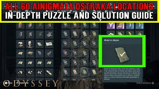 Assassin's Creed Odyssey All 60 Ainigmata Ostraka Locations and Solutions. Document Puzzle Guide