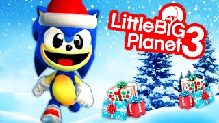 Can Sonic save Christmas? Christmas In Wonderland | LittleBigPlanet 3
